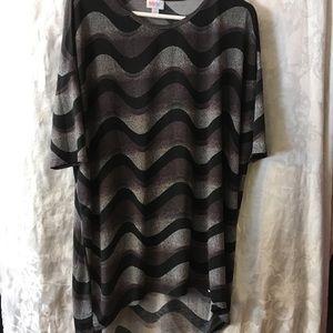 LuLaRoe tunic shirt-ladies Large